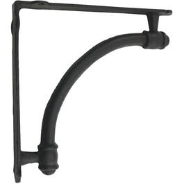 Large Black Cast Iron Shelf Bracket thumb