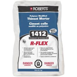 50lb White Polymer Modified R-Flex Thinset Tile Mortar thumb