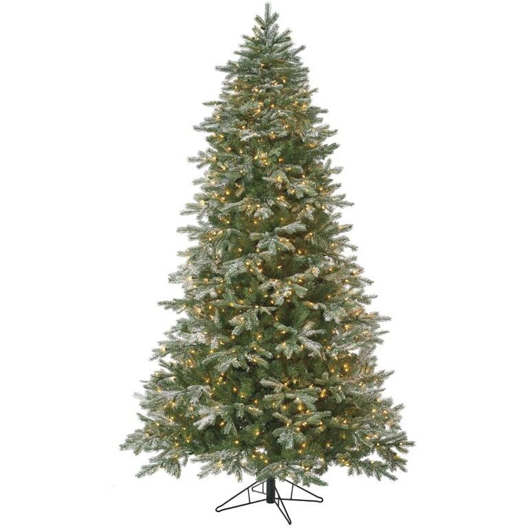 Slim Christmas Tree Costco: Sylvania Stay Lit Christmas Tree