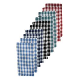 10 Pack Dish Cloths, Assorted Colours thumb