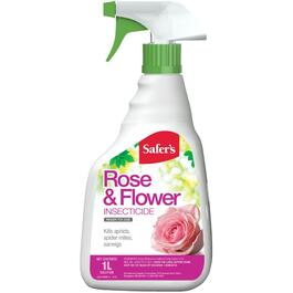 1L Ready-To-Use Rose and Flower Insecticide Spray thumb