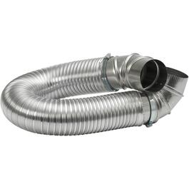 "4"" x 8' All Metal Dryer Vent Kit thumb"