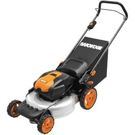 "19"" 56 Volt Cordless Lithium Ion Lawn Mower thumb"