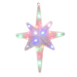 "24"" Indoor/Outdoor Twinkling Star Motif, with 20 LEDs thumb"
