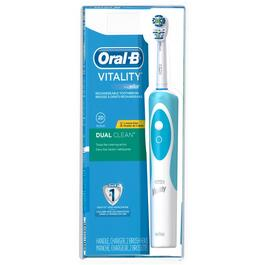 Vitality Dual Clean Rechargeable Toothbrush thumb