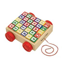 Wooden ABC Blocks with Cart thumb