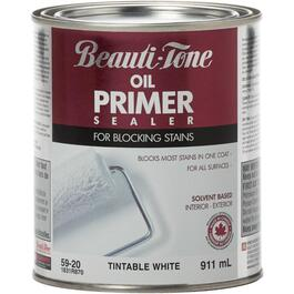 911mL White Interior/Exterior Alkyd Primer Sealer thumb
