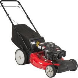 "159cc 21"" 2 IN 1 Front Wheel Drive Gas Lawn Mower thumb"