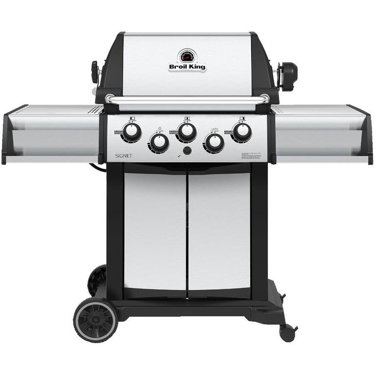 BROIL KING:Signet 390 Propane BBQ - 3 Burners + Side & Rotisserie Burners