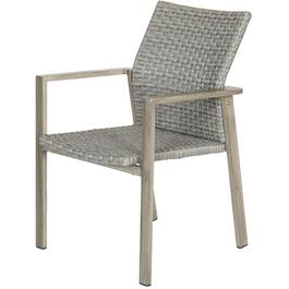 Greystone Aluminum Wicker Dining Chair thumb