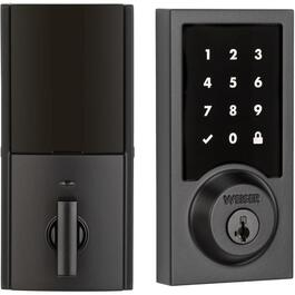 Iron Black Premis Electronic Touch Screen Deadbolt Lock thumb