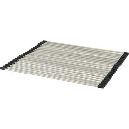 "14-1/2"" x 16-1/2"" Stainless Steel Over Sink Dish Drainer thumb"