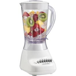 575 Watt 10 Speed White Blender, with Plastic Jar thumb