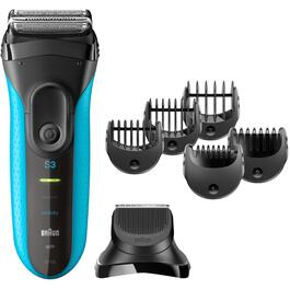 3 in 1 Wet/Dry Rechargeable Mens Shaver thumb