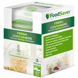 6 Piece Foodsaver Fresh Containers and Trays Accessories thumb