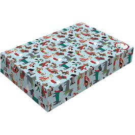 "3 Pack 13"" x 9"" x 2"" Folding Christmas Gift Boxes thumb"