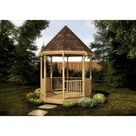10' x 10' Cedar Octagon Gazebo Package thumb