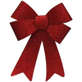 "14.5"" x 9.5"" Rigid Bow, with Glitter, Assorted Colours thumb"