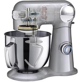 500 Watt 12 Speed Silver Stand Mixer, with 5.5 Quart Bowl thumb