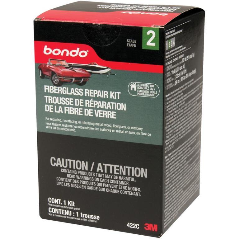 BONDO 1L Fibreglass Automotive Repair Kit