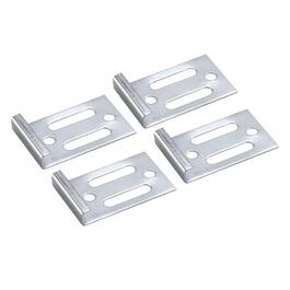 "4 Pack 3/16"" Deluxe Metal Mirror Clips thumb"