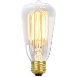 60W S60 Medium Base Vintage Edison Tinted Glass Light Bulb thumb