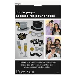 10 Pack New Years Photo Booth Props thumb