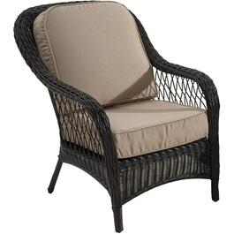 Montauk Wicker Club Chair, with Cushion thumb