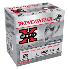 "25 Pack 3"" 12 Gauge #2 High Velocity Steel Xpert Ammo thumb"
