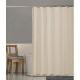"70"" x 72"" Bone Magnetic Peva Shower Curtain/Liner thumb"