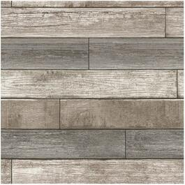 "20.5"" x 18' Reclaimed Wood Plank Natural Peel and Stick Wallpaper thumb"