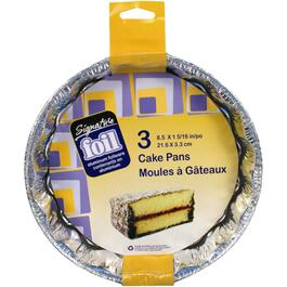 "3 Pack 9"" x 1"" Foil Pie Plates thumb"