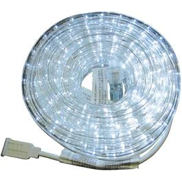 39' Pure White LED Round Ropelight thumb