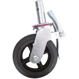 "8"" Scaffold Caster, with Double Brake thumb"