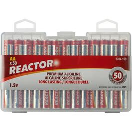 50 Pack Alkaline AA Batteries thumb