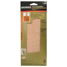 6 Pack 120 Grit Hook and Loop Sandpaper Refills thumb