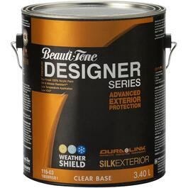 3.40L Silk Finish Clear Base Exterior Latex Paint thumb