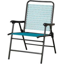 Aqua Oversize Folding Strap Chair thumb