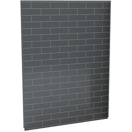 "60"" Thunder Grey U Tile Back Shower Wall thumb"