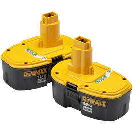2 Pack 18 Volt Battery thumb
