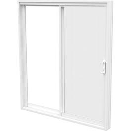 "6' x 6'8"" Odyssey OF Low-e Glass PVC Patio Door, with 5-1/2"" Frame thumb"