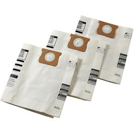 3 Pack 8 to 11.5 Gal Vacuum Filter Bags thumb