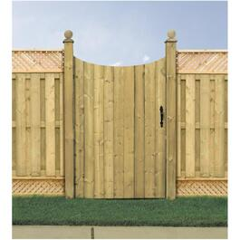 5' Pressure Treated Lawrence Privacy Gate Fence Package thumb