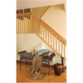 "1-5/8"" x 2-1/4"" x 6' Maple Top Handrail, with Fillet thumb"