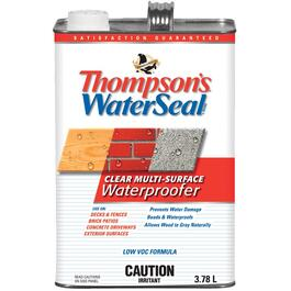 3.78L Clear Low VOC Water Sealant thumb