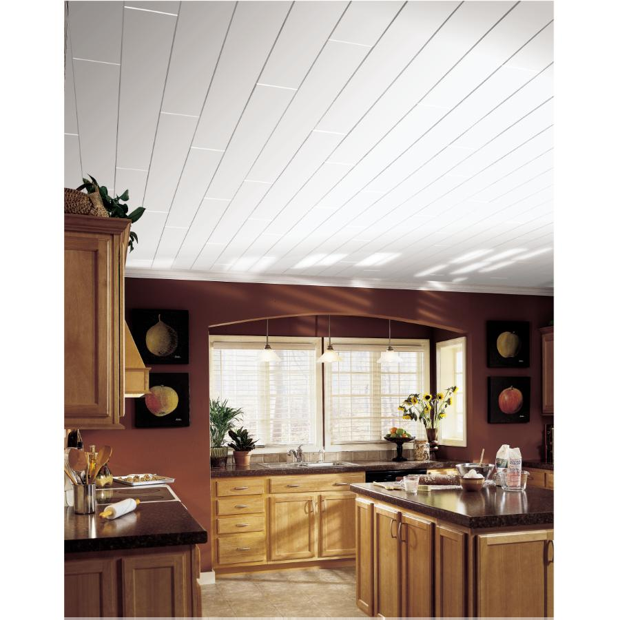 White Woodhaven Ceiling Planks