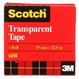 19mm x 32.9M Transparent Tape Refill thumb