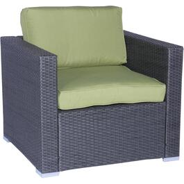 Galway Wicker Club Chair, with Cushion thumb