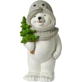 "23"" Magnesium Standing Bear Decor thumb"
