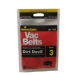 2 Pack Style 3 Dirt Devil Vacuum Belts thumb
